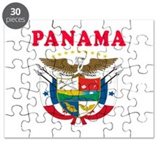 Panama Coat Of Arms Designs Puzzle