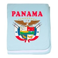 Panama Coat Of Arms Designs baby blanket