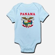 Panama Coat Of Arms Designs Infant Bodysuit