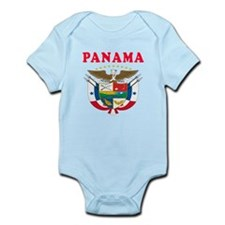 Panama Coat Of Arms Designs Onesie