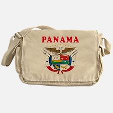 Panama Coat Of Arms Designs Messenger Bag