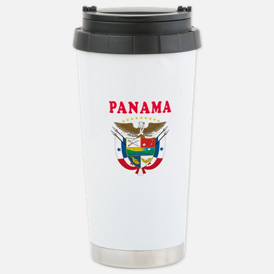 Panama Coat Of Arms Designs Stainless Steel Travel