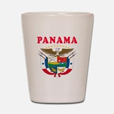 Panama Coat Of Arms Designs Shot Glass
