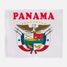 Panama Coat Of Arms Designs Throw Blanket