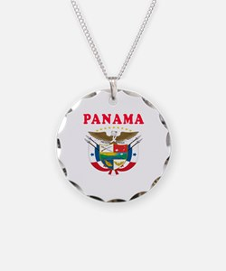 Panama Coat Of Arms Designs Necklace