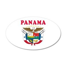 Panama Coat Of Arms Designs Wall Decal
