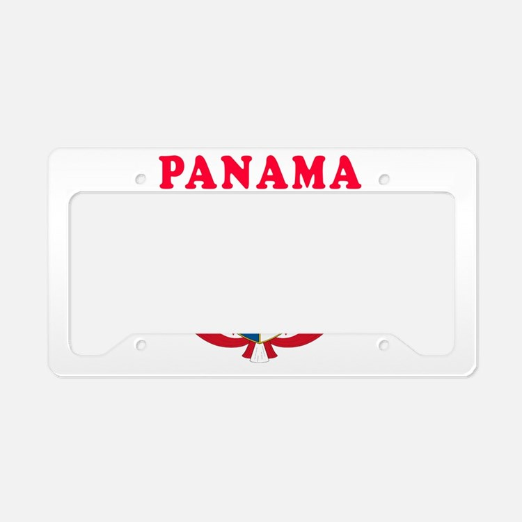 Panama Coat Of Arms Designs License Plate Holder
