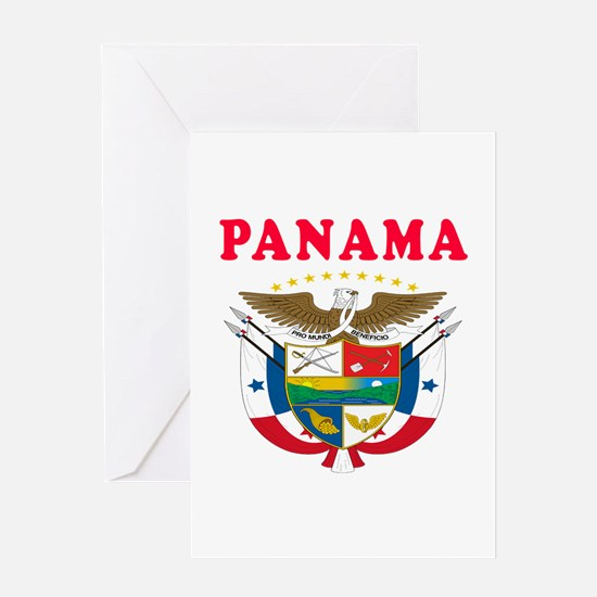 Panama Coat Of Arms Designs Greeting Card