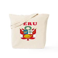 Peru Coat Of Arms Designs Tote Bag