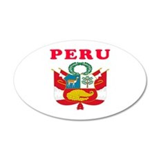Peru Coat Of Arms Designs Wall Decal