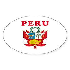 Peru Coat Of Arms Designs Decal