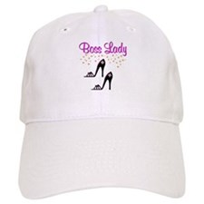#1 BOSS LADY Baseball Cap