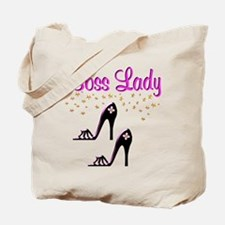 #1 BOSS LADY Tote Bag