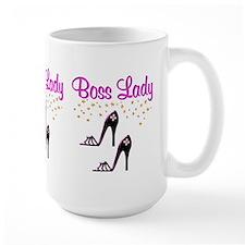 #1 BOSS LADY Mug