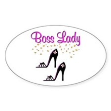 #1 BOSS LADY Decal