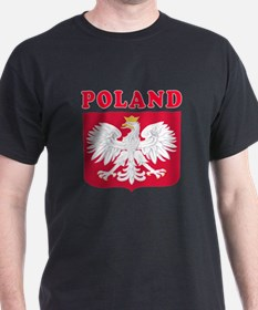 Poland Coat Of Arms Designs T-Shirt