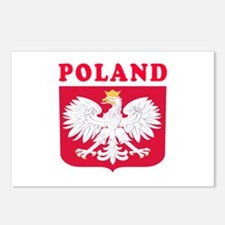 Poland Coat Of Arms Designs Postcards (Package of