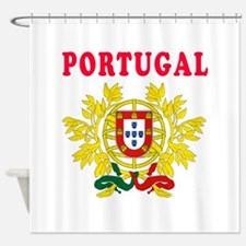 Portugal Coat Of Arms Designs Shower Curtain