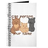 Cat Journals & Spiral Notebooks