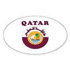 Qatar Coat Of Arms Designs Decal