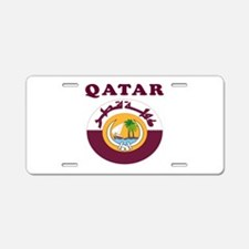 Qatar Coat Of Arms Designs Aluminum License Plate