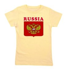 Russia Coat Of Arms Designs Girl's Tee