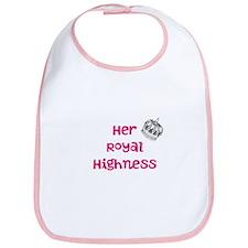 Her Royal Highness Baby Bib