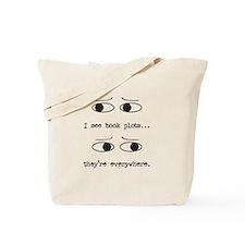 I See Book Plots - Tote Bag
