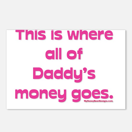 This is where all of my daddy Postcards (Package o