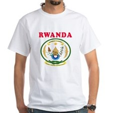 Rwanda Coat Of Arms Designs Shirt