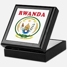 Rwanda Coat Of Arms Designs Keepsake Box