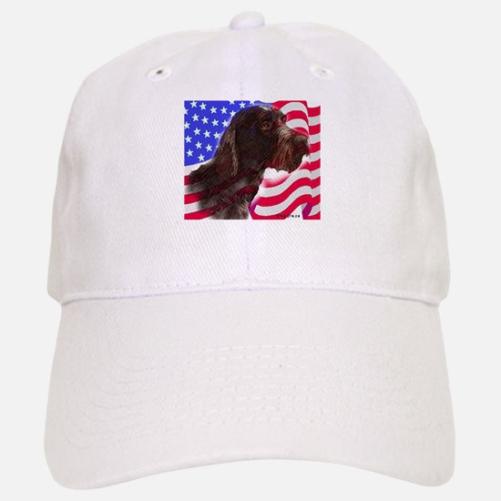 gwp with flag Baseball Baseball Cap
