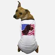 gwp with flag Dog T-Shirt