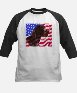 gwp with flag Kids Baseball Jersey