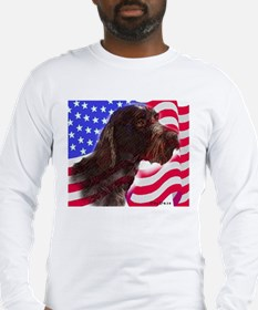 gwp with flag Long Sleeve T-Shirt