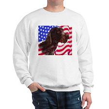 gwp with flag Sweatshirt