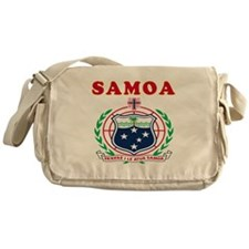 Samoa Coat Of Arms Designs Messenger Bag
