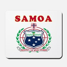Samoa Coat Of Arms Designs Mousepad