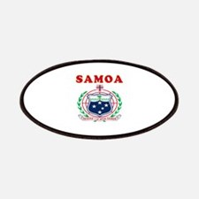 Samoa Coat Of Arms Designs Patches