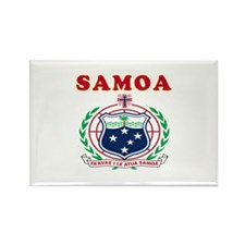 Samoa Coat Of Arms Designs Rectangle Magnet