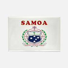 Samoa Coat Of Arms Designs Rectangle Magnet