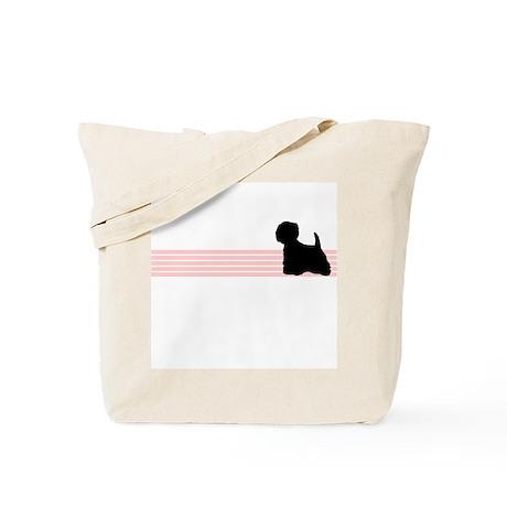 Retro Westie Tote Bag