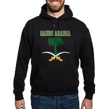 Saudi Arabia Coat Of Arms Designs Hoodie