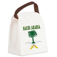 Saudi Arabia Coat Of Arms Designs Canvas Lunch Bag