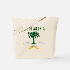 Saudi Arabia Coat Of Arms Designs Tote Bag