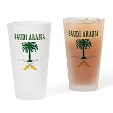Saudi Arabia Coat Of Arms Designs Drinking Glass