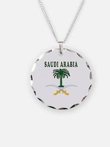 Saudi Arabia Coat Of Arms Designs Necklace