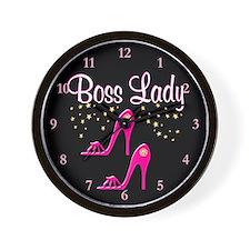 FOXY BOSS LADY Wall Clock