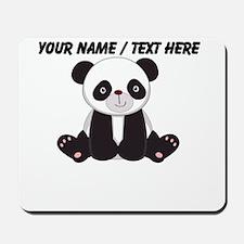 Custom Cute Panda Mousepad