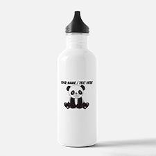 Custom Cute Panda Water Bottle